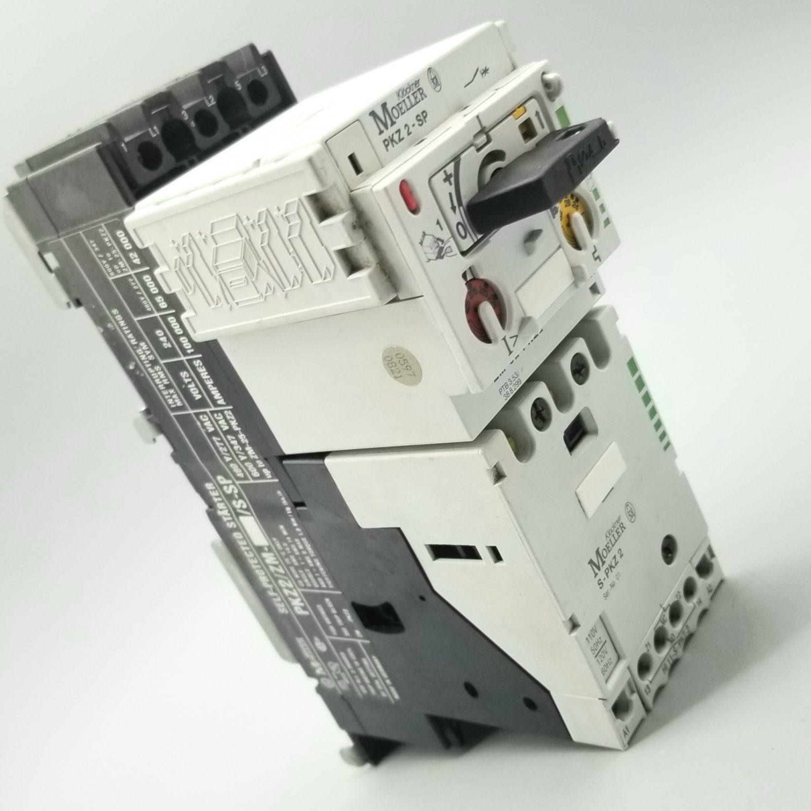 Klockner Moeller PKZ2/ZM-/S-SP Self-Protected Starter