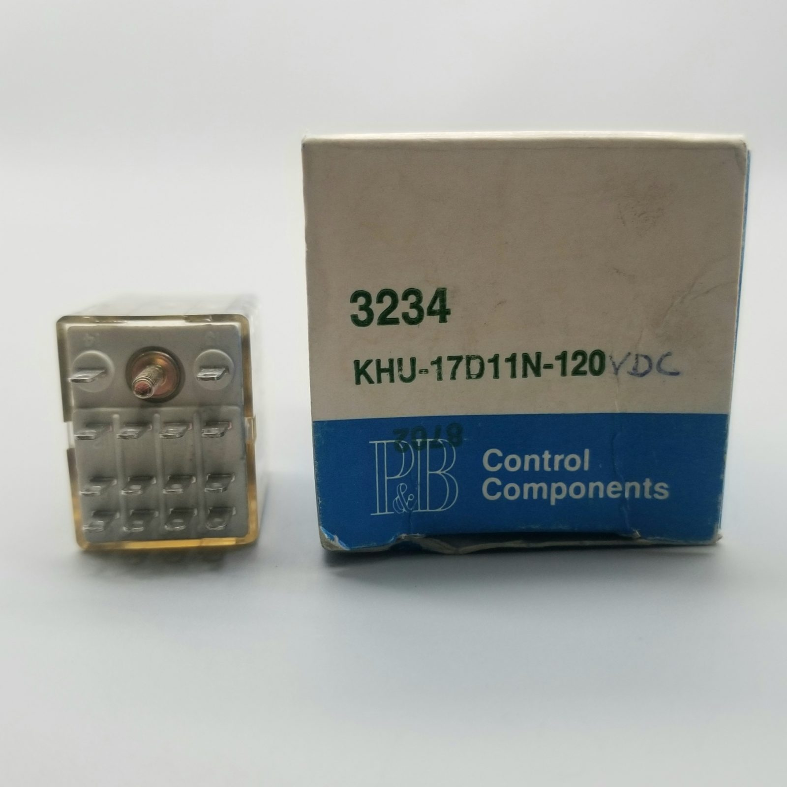 Potter & Brumfield KHU-17D11N-120 VDC Plug In Relay 120-VDC