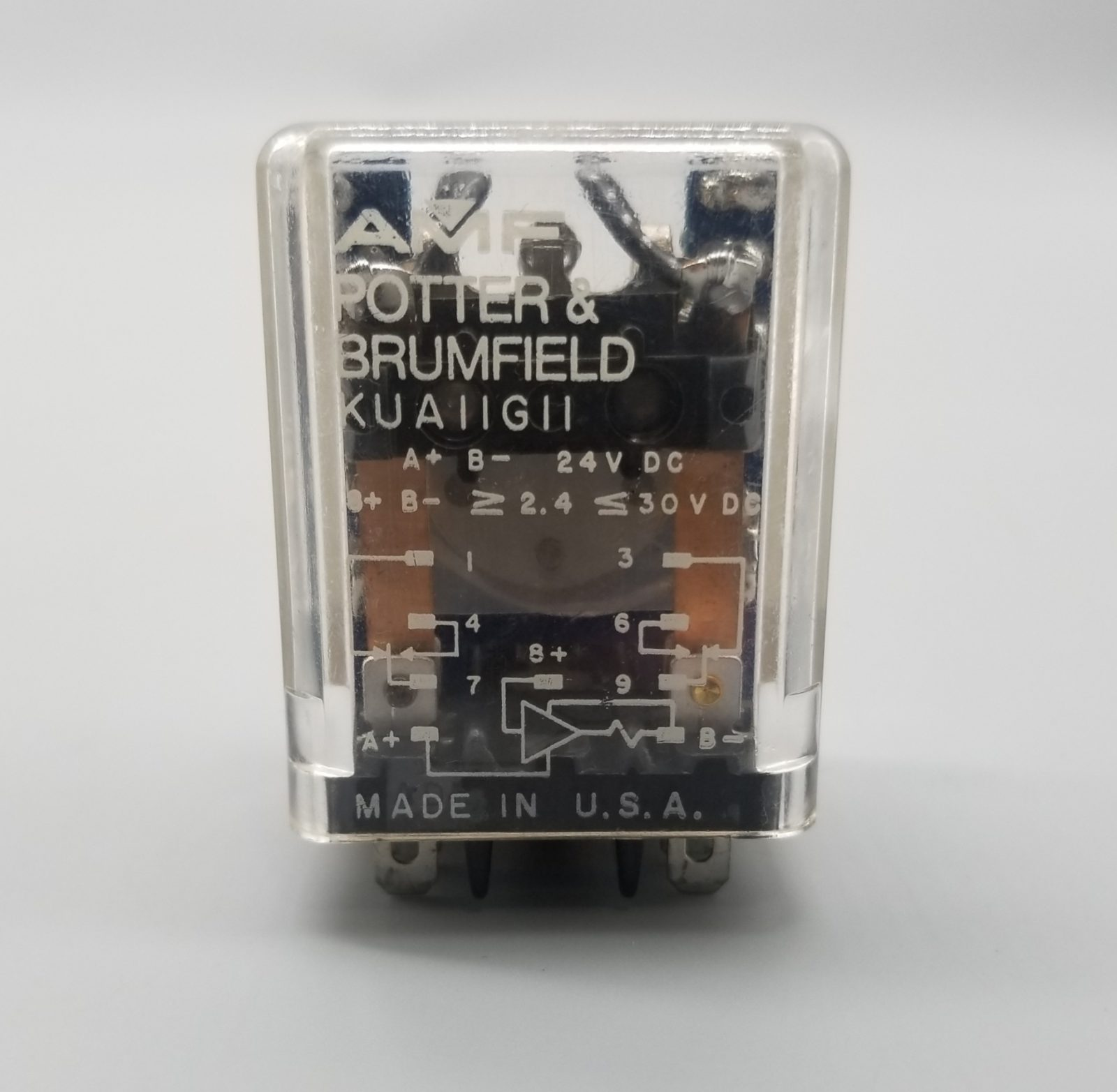 Potter & Brumfield KUA11G11 Plug In Relay 24 VDC