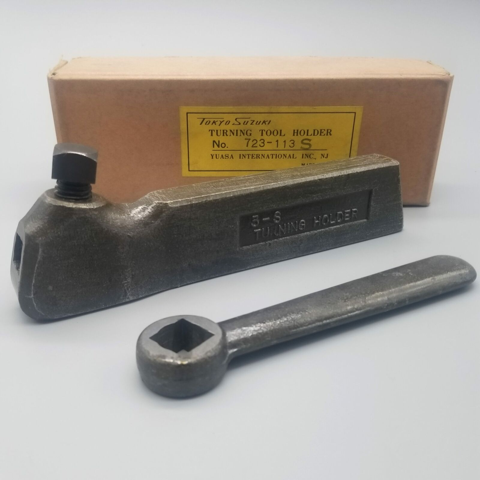 Yuasa Lathe Turning Tool Holder, 3-S Straight